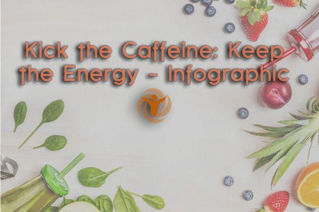 Kick the Caffeine: Keep the Energy - Infographic