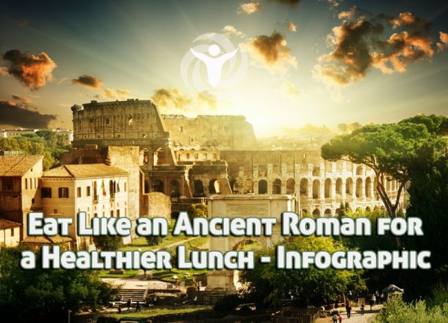 Eat Like Ancient Roman Healthier Lunch Infographic