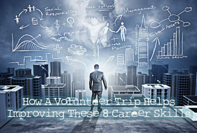 Volunteer Trip Helps Improving Career Skills