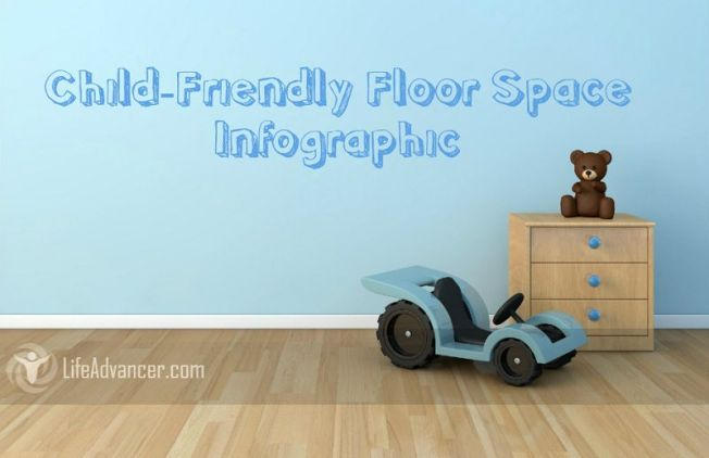 Child-Friendly Floor Space - Infographic