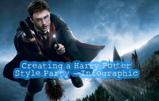 Creating a Harry Potter Style Party - Infographic