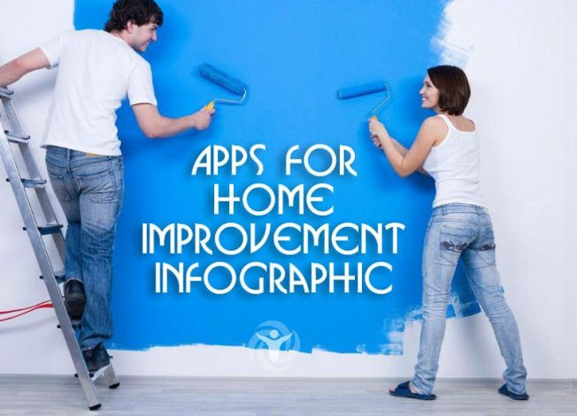Apps Home Improvement nfographic