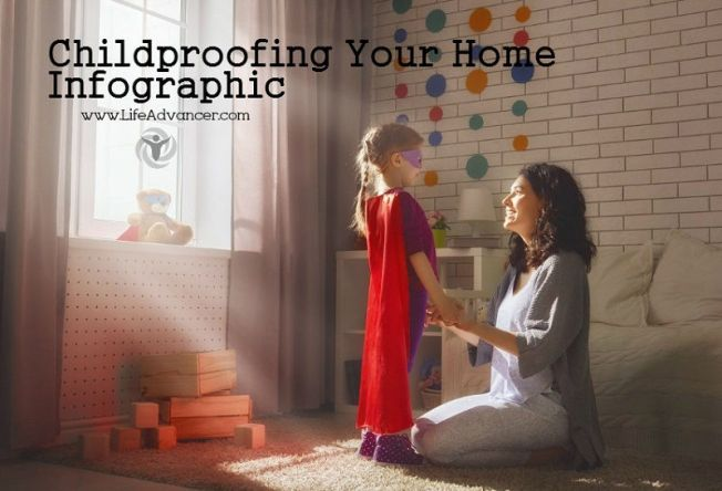 Childproofing Your Home - Infographic